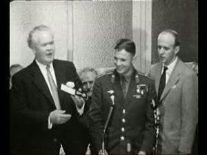 Gagarin in Manchester