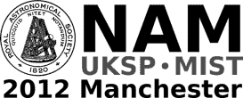 Nationl Astronomy Meeting - Manchester 2012