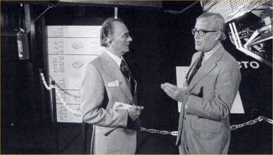 Reg Turnill wit von Braun
